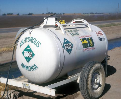 Аммиачная вода (водный аммиак) - Сельскохозяйственная техника для </p>внесения водного амиака