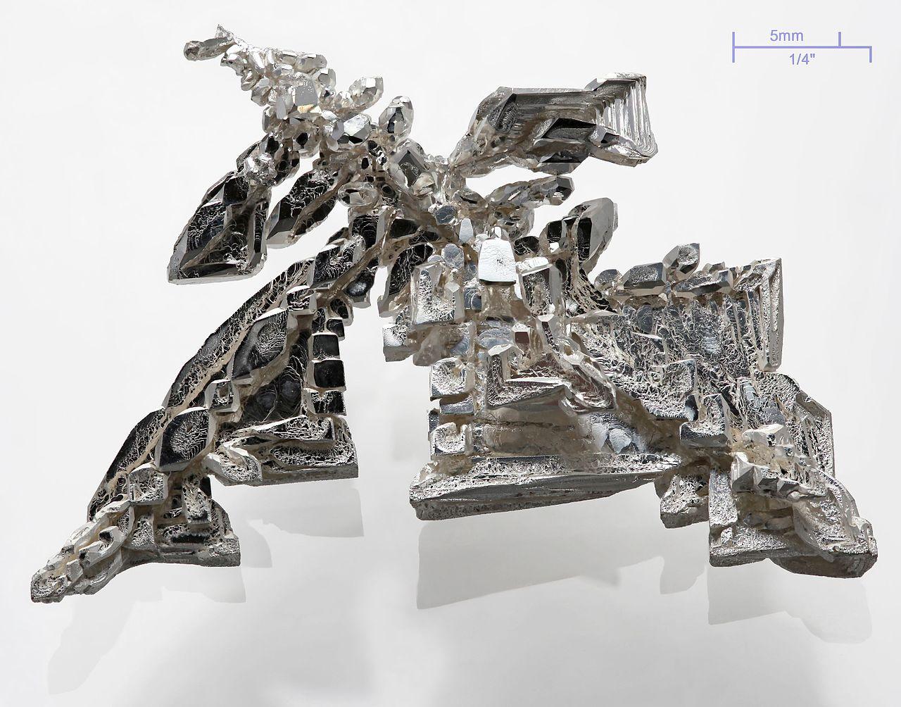 Серебро - серебряный кристалл