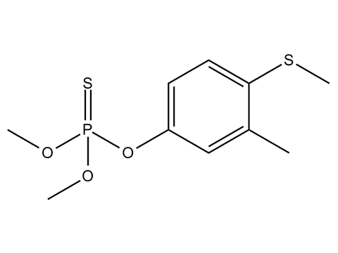 Фентион - Структурная формула