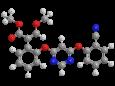 Азоксистробин - Трехмерная модель молекулы