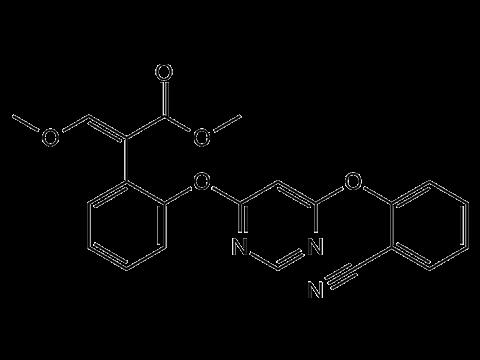 Азоксистробин - Структурная формула