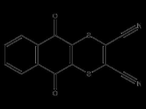 Дитианон - Структурная формула