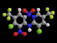 Флуазинам - Трехмерная модель молекулы