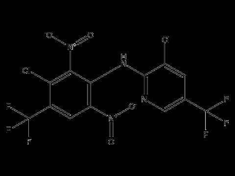 Флуазинам - Структурная формула
