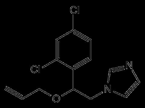Имазалил - Структурная формула
