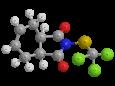 Каптан - Трехмерная модель молекулы