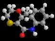 Карбоксин - Трехмерная модель молекулы