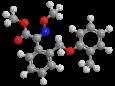 Крезоксим-метил - Трехмерная модель молекулы