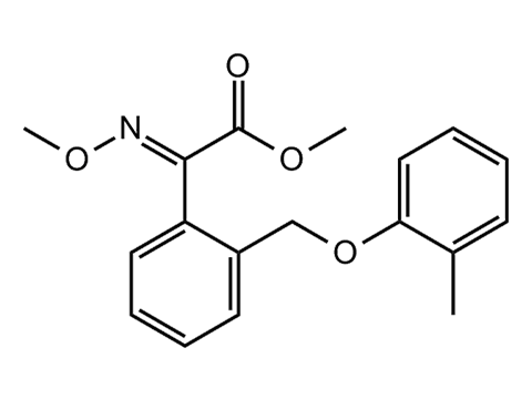 Крезоксим-метил - Структурная формула