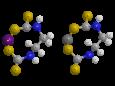 Манкоцеб - Трехмерная модель молекулы