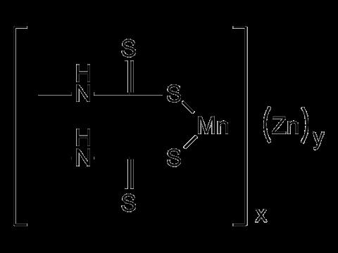 Манкоцеб - Структурная формула