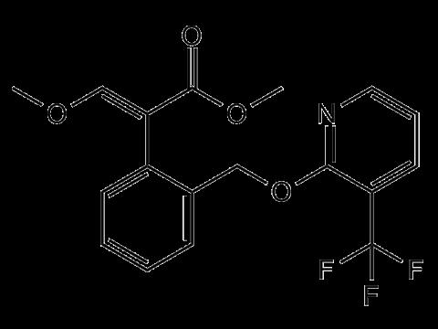 Пикоксистробин - Структурная формула