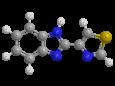 Тиабендазол - Трехмерная модель молекулы