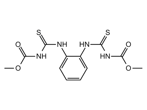 Тиофанат-метил - Структурная формула