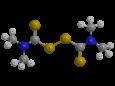 Тирам (ТМТД) - Трехмерная модель молекулы