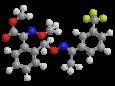 Трифлоксистробин (Зато) - Трехмерная модель молекулы