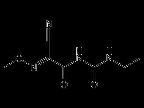 Цимоксанил - Структурная формула