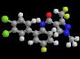 Биксафен - Трехмерная модель молекулы