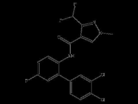 Биксафен - Структурная формула
