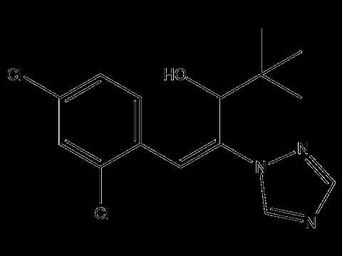 Диниконазол - Структурная формула