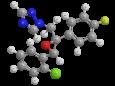 Эпоксиконазол - Трехмерная модель молекулы