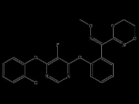 Флуоксастробин - Структурная формула