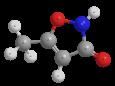 Гимексазол - Трехмерная модель молекулы