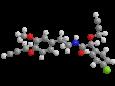 Мандипропамид - Трехмерная модель молекулы