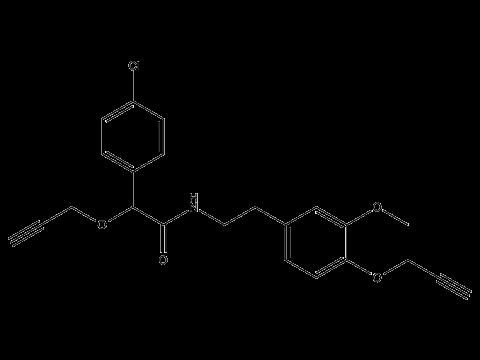 Мандипропамид - Структурная формула