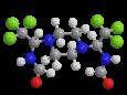 Трифорин (Сапроль) - Трехмерная модель молекулы