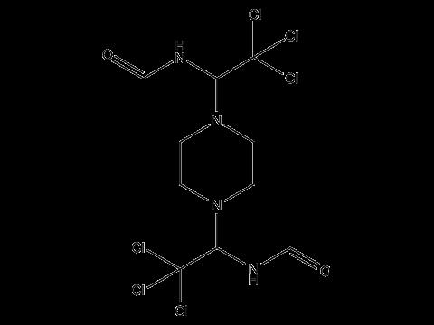 Трифорин (Сапроль) - Структурная формула