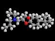 Спироксамин - Трехмерная модель молекулы