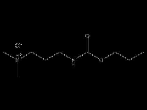 Пропамокарб гидрохлорид - Структурная формула