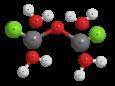 Меди хлорокись - Трехмерная модель молекулы