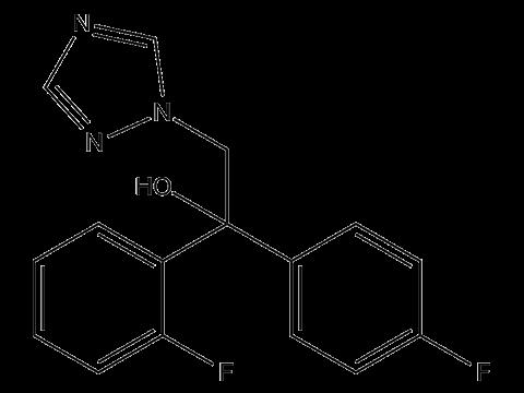 Флутриафол - Структурная формула