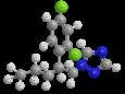 Пенконазол (Топаз) - Трехмерная модель молекулы