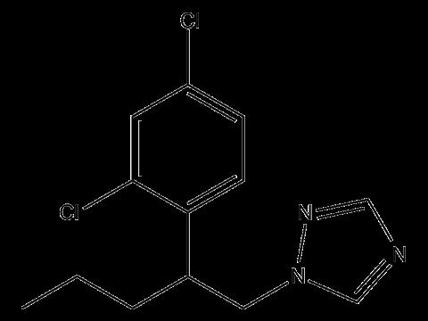 Пенконазол (Топаз) - Структурная формула