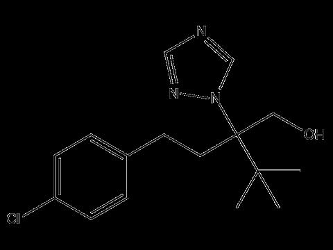 Тебуконазол - Структурная формула