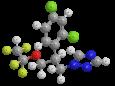 Тетраконазол - Трехмерная модель молекулы