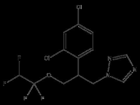 Тетраконазол - Структурная формула