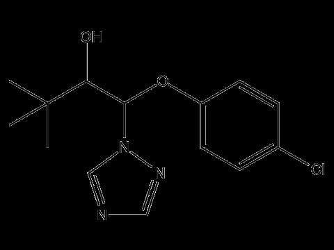 Триадименол (Байтан) - Структурная формула