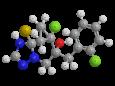 Протиоконазол - Трехмерная модель молекулы