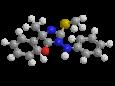 Фенамидон - Трехмерная модель молекулы