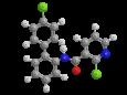 Боскалид - Трехмерная модель молекулы
