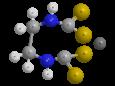 Цинеб - Трехмерная модель молекулы