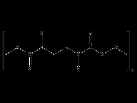 Цинеб - Структурная формула
