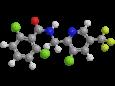 Флуопиколид - Трехмерная модель молекулы