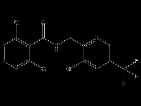 Флуопиколид - Структурная формула