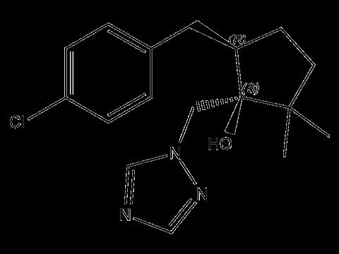 Метконазол - Структурная формула