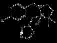 Метконазол - Структурная формула (транс-изомер)
